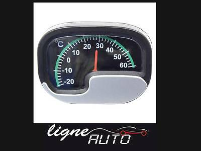 Thermometre luxe interieur auto voiture camping car maison
