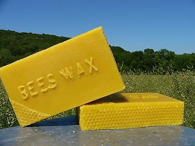 3 Pounds Pure Beeswax~Yellow Bees Wax~Chemical free