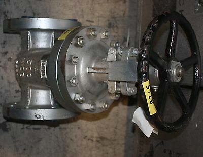 CRANE 33XU Size 4 bolted bonnet gate valve 4in. Class 300 flanged WCB / CR13 NEW