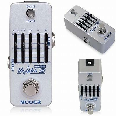 Mooer Micro Series Graphic B - 5 Band Bass Equaliser Effects Pedal