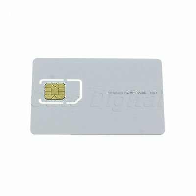 Universal Activate Activation SIM Card for Apple iPhone 2G/3G/3GS/4 New