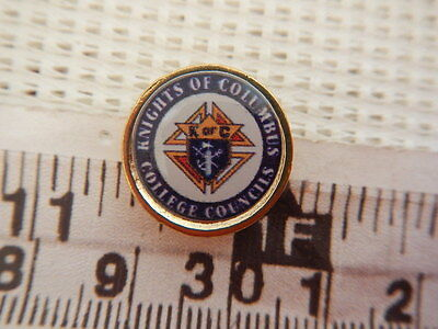 Knights of Columbus K of C Fraternal Organization College Councils Lapel Pin