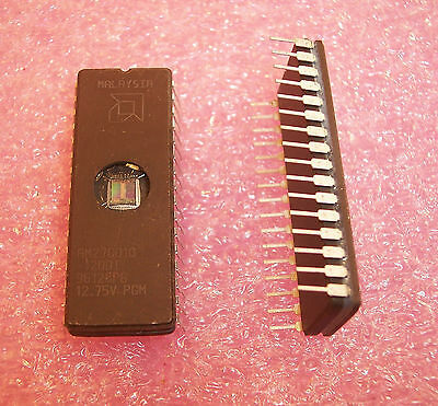 Qty (5)  Am27C010-120Di Amd Ceramic Dip 1 Meg Eprom Industrial Temperature