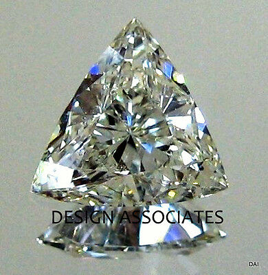 14 MM TRIANGLE Cut White Cubic Zirconia AAA Best Grade