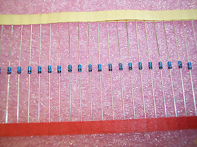 100 pcs BZY88C10 THOMSON AXIAL ZENER DIODES DO-7 10V 500mW HERMETICALLY SEALED