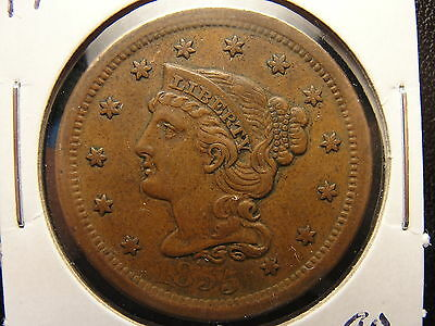 1955 Braided Hair Large Cent VF+ Very Fine (JW)
