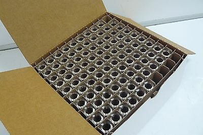 New Box Of 95 Test Tubes 3.5 Inches