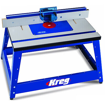 Kreg PRS2100 Precision Benchtop 16-inch x 24-inch MDF Portable Router Table New