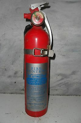 Vintage 1975 Fire Control Model 310R Dry Chemical FIRE EXTINGUISHER