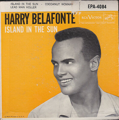 Harry Belafonte Island In The Sun + 2 EP USA With Picture Sleeve