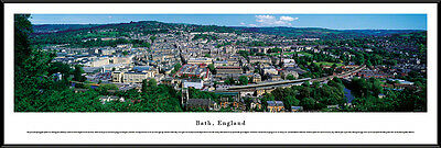 England City Night Skyline Framed Panorama Poster Picture II Liverpool