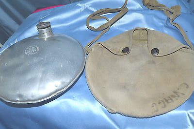 Vintage Boyscouts of America Official Canteen in Pouch