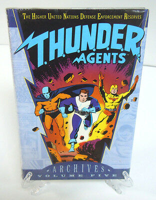 T.H.U.N.D.E.R. THUNDER AGENTS Vol 5 DC Comics Archive Edition Hard Cover Sealed