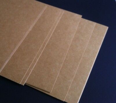Natural 280gsm Quality Kraft Brown ReCycled Card A5  unbleached x 100 sheets