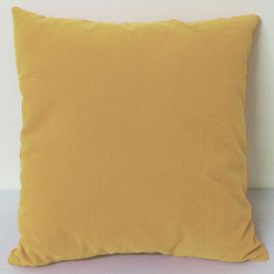 Camel Color Suede Like Velvet Cushion Cover Case Made to Order #u17-tp-20