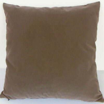 Natural Color Suede Like Velvet Cushion Cover Case Made to Order #u17-tp-21