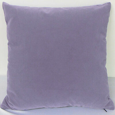 Dark Hyacinth Color Suede Like Velvet Cushion Cover Case Made to Order #u17-tp-4