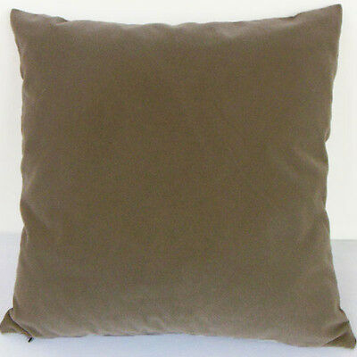 Fossil Color Suede Like Velvet Cushion Cover Case Made to Order #u17-tp-17