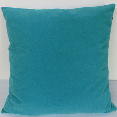 Kingfisher blue Suede Like Velvet Cushion Cover Case Made to Order #u17-cc-tp-14