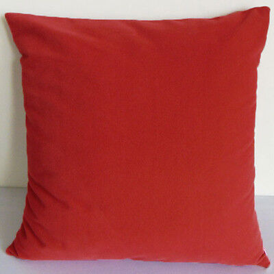 Lt.rust Suede Like Velvet Cushion Cover Case Made to Order #u17-cc-tp-39