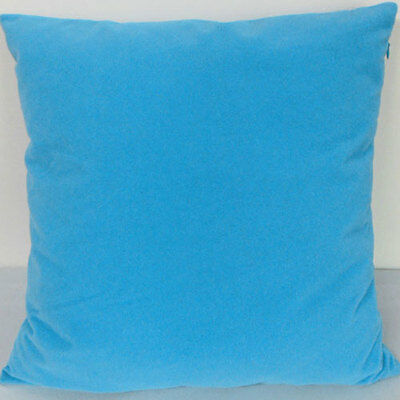 Porcelain blue  Suede Like Velvet Cushion Cover Case Made to Order #u17-cc-tp-58