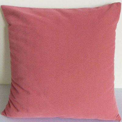 Red maple Suede Like Velvet Cushion Cover Case Made to Order leaf #u17-cc-tp-30