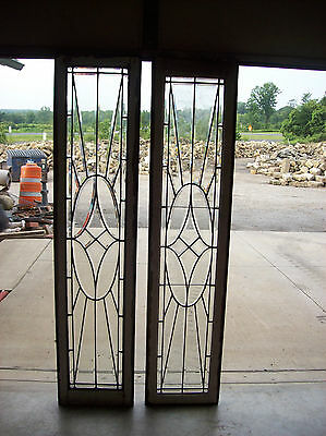 5 piece  beveled glass feature window     (SG 1455)