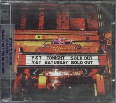 Y & T Live At The Mystic Sealed 2 Cd Set New 2013