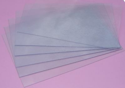 250micron A4 PVC Binding Cover Pack of 100 - Clear