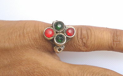 vintage antique ethnic tribal old silver ring gypsy hippie traditional jewelry