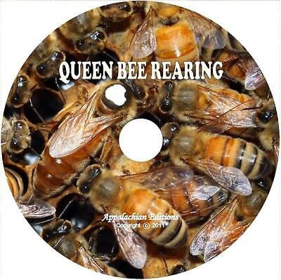 PRACTICAL QUEEN BEE REARING by Frank Pellett + The Library of Queen Bee on CD
