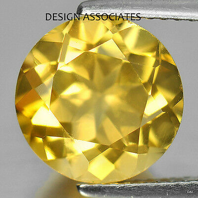 10 Mm Round Cut Golden Citrine All Natural Aaa