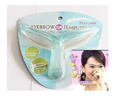 New Hot Sell Eyebrow Stencil Template Make Up Kit Shaping Tool For Eyebrow