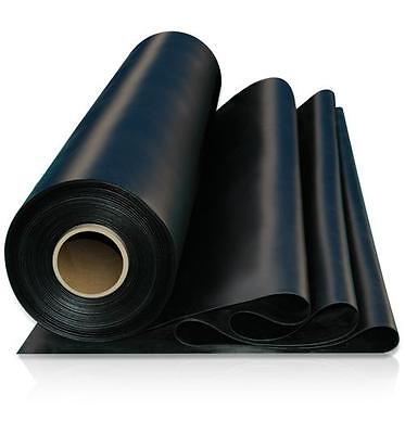 Solid Black Rubber Sheeting 1Mtr X 1.4Mtr X 1Mm To 25Mm - Jointing & Gaskets