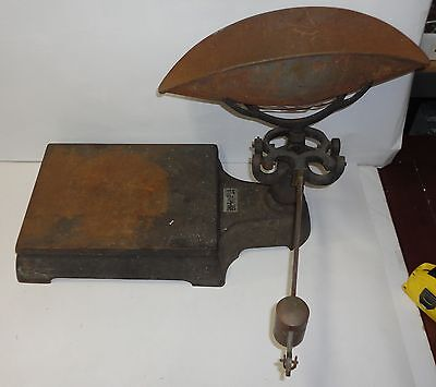 Vintage Antique Fairbanks, Morse, & Co. 250 lbs Code 508 Pharmaceutical Scale