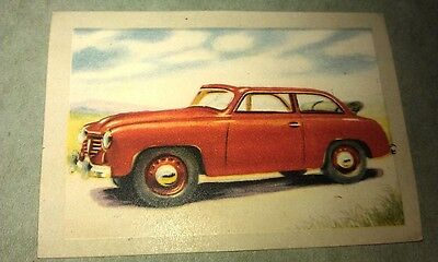 1951 GOLIATH Drophead  Jacques Chocolates BELGIUM Trade Swap Card