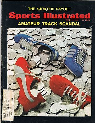 March 10, 1969 Sports Illustrated AMATEUR TRACK SCANDAL THE $100,000 PAYOFF