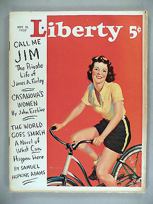 Liberty Magazine - September 18, 1937 ~ Mister Ed, the Talking Horse ~~ Mr. Ed
