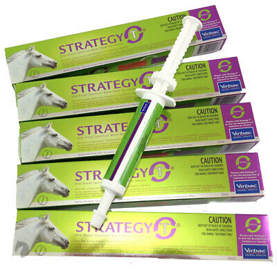 Horse Wormer Strategy T ROTATIONAL VANILLA Flavour up to 700kg in weight x 5