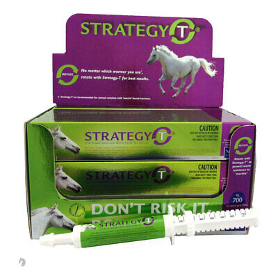 Horse Wormer Strategy T ROTATIONAL VANILLA Flavour up to 700kg in weight x 10