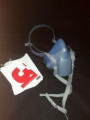 3M 7500 REUSABLE SILICONE HALF MASK / RESPIRATOR / 7502 Medium