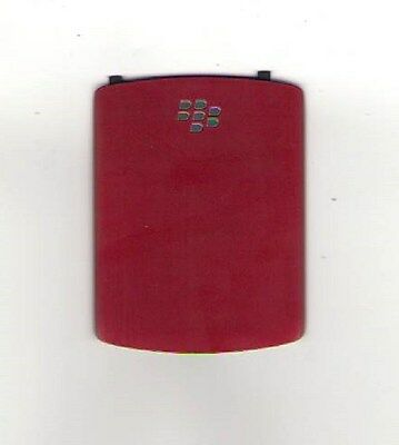 LOT OF 5 USED OEM BATTERY DOOR COVER BACK BLACKBERRY 8520 8530 CURVE RED