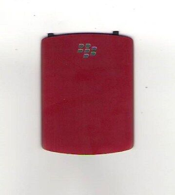 USED OEM BATTERY DOOR COVER BACK BLACKBERRY 8520 8530 CURVE RED