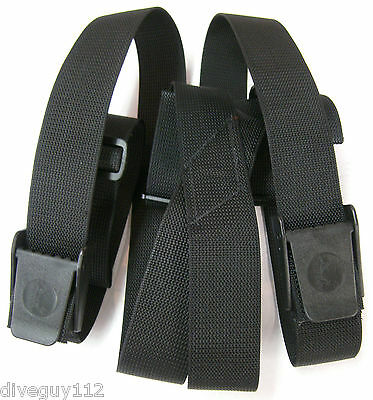 Weight Belt Suspenders Scuba Diving Dive Equipment  New WB80 Black