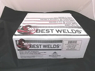 Mig Welding Wire Er70S-6 0.035 X 44 Lb Roll Copper Coated 44Lb .035 Layer Wound
