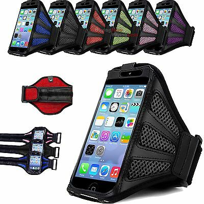 Premium Running Armband Case Jogging Cover For Apple iPhone 4 5 SE 6 6s 4.7 5.5