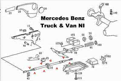 Mercedes Sprinter Handbrake Cable,Also Fits VW,Genuine Mercedes Part, 9044200485