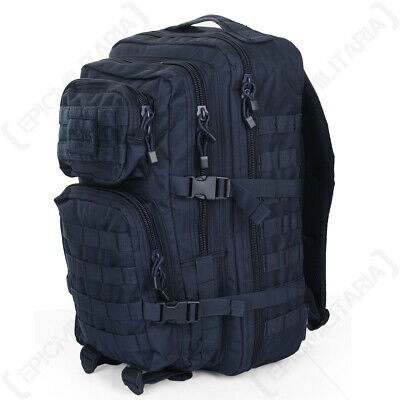 NAVY BLUE Molle RUCKSACK Assault Large 36L BACKPACK Tactical Army Day Pack