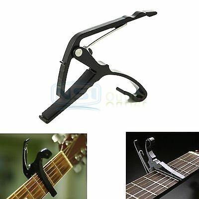 New Metal Capo Quick Change Tune Key Clamp Trigger for Acoustic/Electric Guitar