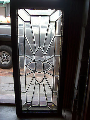 Flower rays beveled glass window (SG 1450)